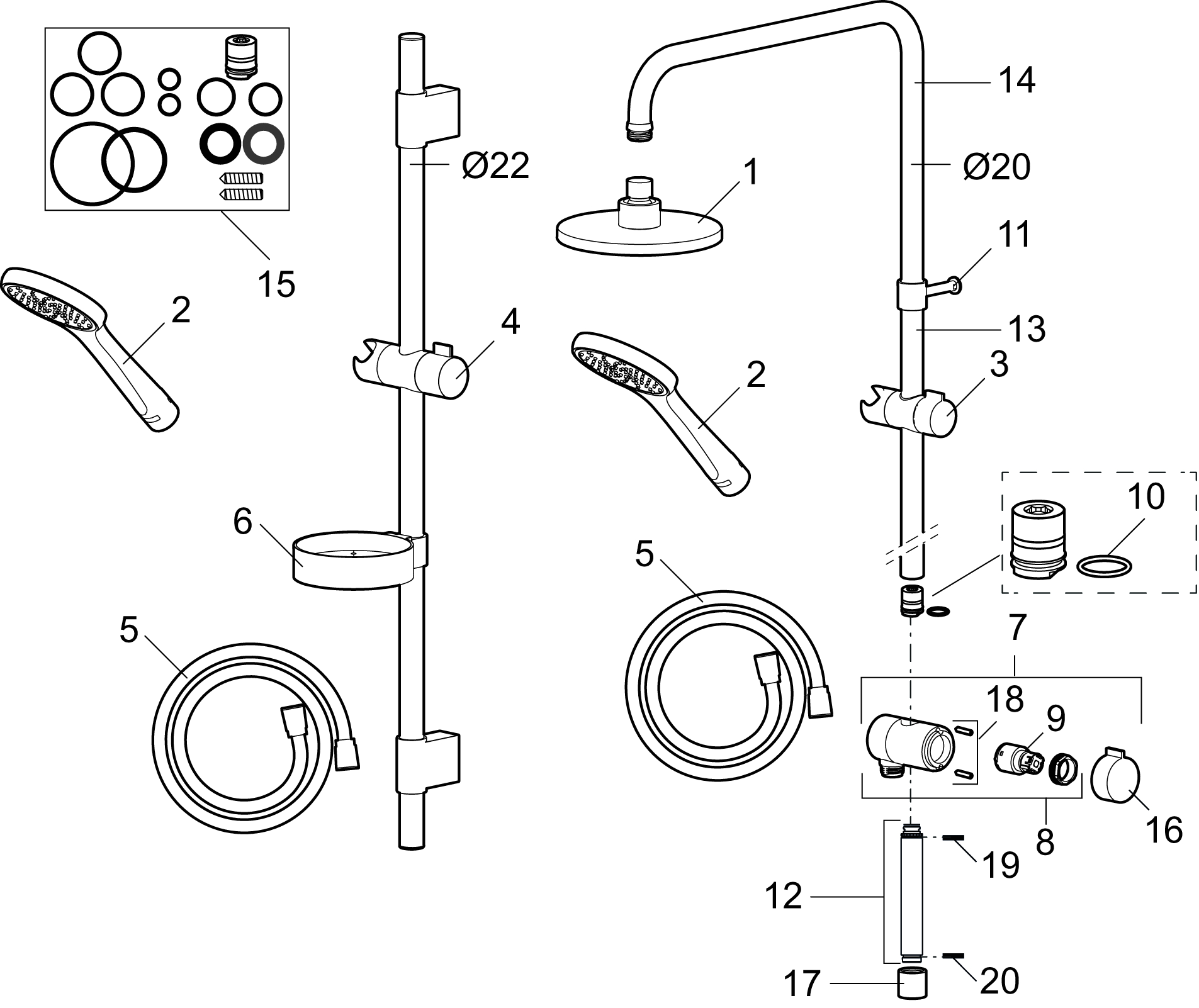 K Cera II Shower System.png